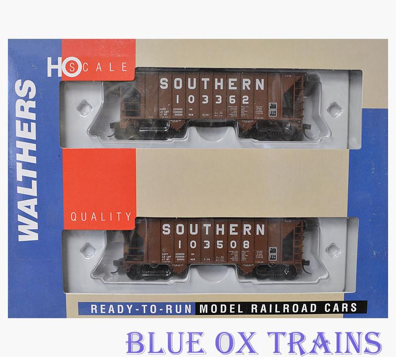 Walthers 27405 Southern Greenville 100 Ton Hopper SOU 103362-103508 HO Scale