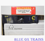 Walthers 932-4702 HO Chessie 50' Waffle Boxcar Kit C&O 486143