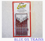 Excel 55662 6pc Precision Screwdriver Set Phillips and Regular