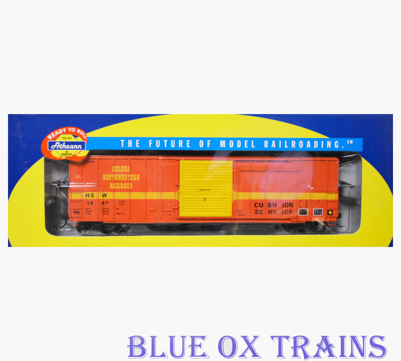 Athearn R27 91412 Helena Southwestern Railroad 50' FMC Boxcar HSW 1047 HO Scale