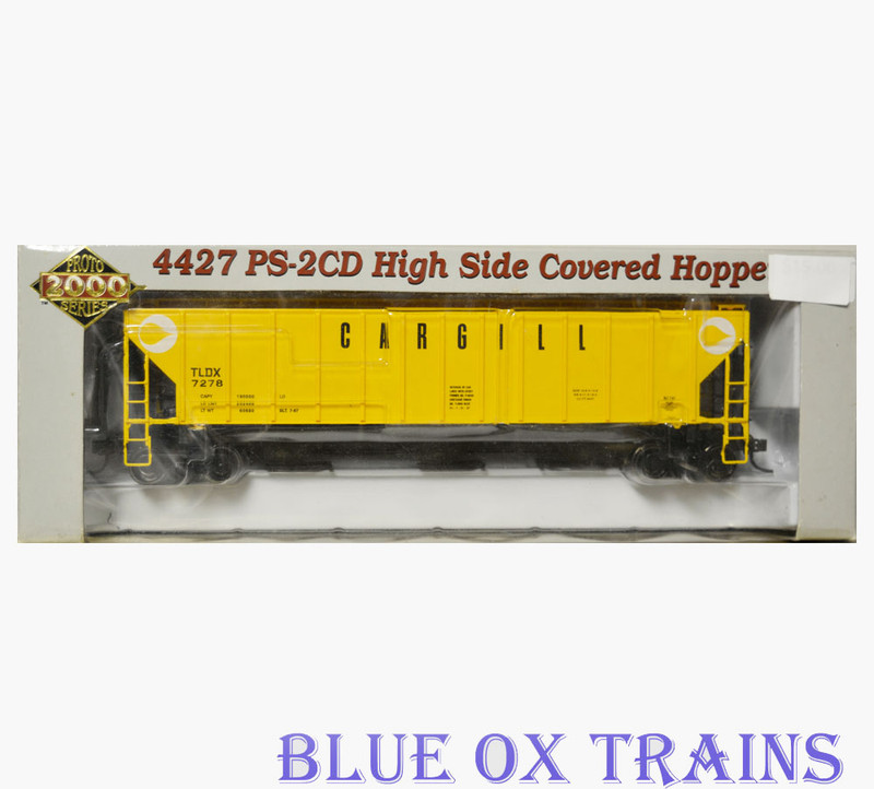Proto 2000 21326 Cargill 4427 PS2-CD High Side Covered Hopper TLDX 7278 HO Scale