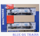 Walthers 932-27213 HO JM Huber Funnel Flow Tank Car 2 Pack