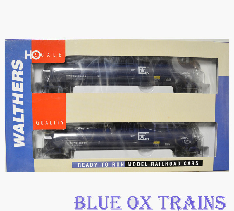 Walthers 932-27306 Texas Petrochemicals 33,000 Gallon LPG Tank Car 2 Pack TXPX HO Scale