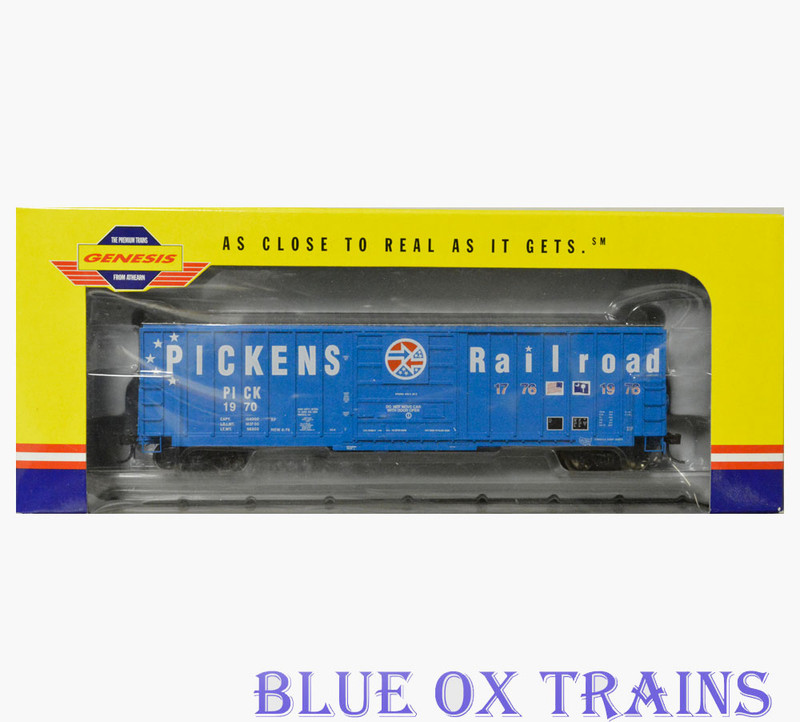 Athearn Genesis R31 G4232 Pickens Railroad 50' Sieco Box Car PICK 1970 HO Scale