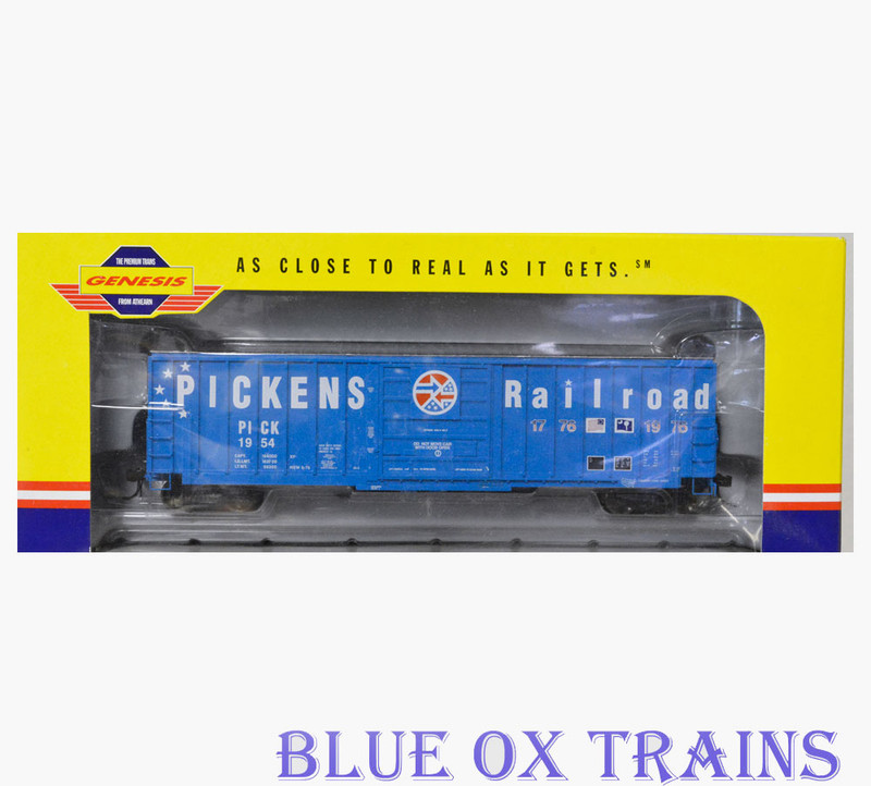 Athearn Genesis R32 G4232 Pickens Railroad 50' Sieco Box Car PICK 1954 HO Scale