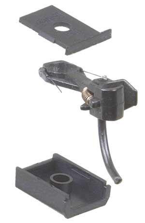 "Kadee 144 WHISKER® Metal Coupler Short (1/4"") Underset Shank"