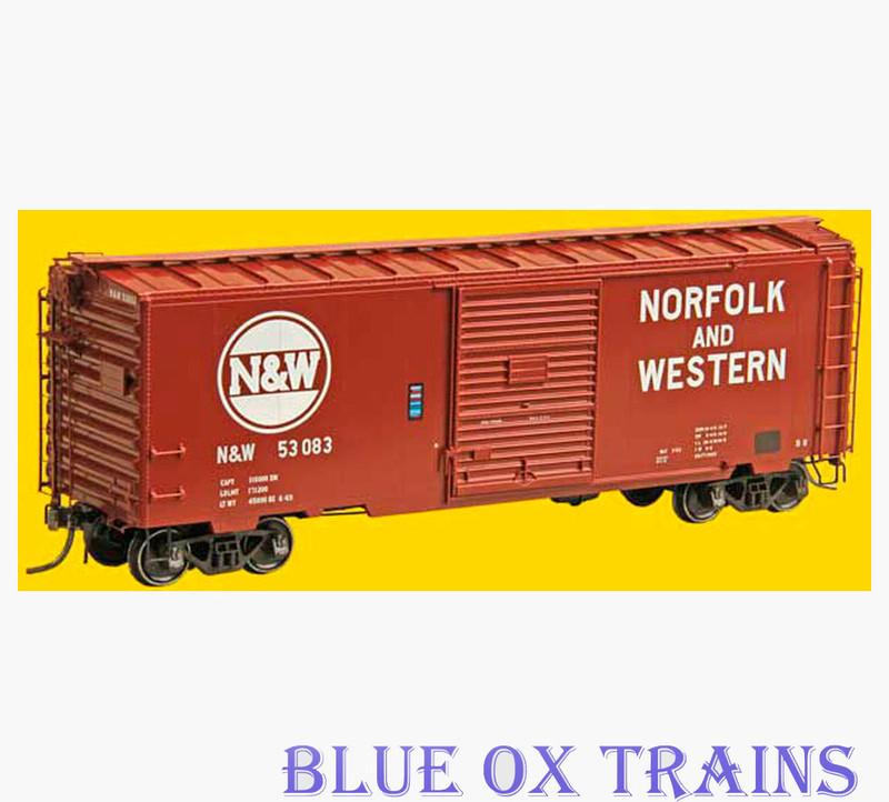 KADEE 5016 K112 Norfolk & Western 40' PS-1 Boxcar N&W #53083 HO Scale