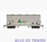 InterMountain 46515-02 R95 Saskatchewan Minerals ACF Centerflow 2 Bay Hopper SACFX 44763 Ho Scale