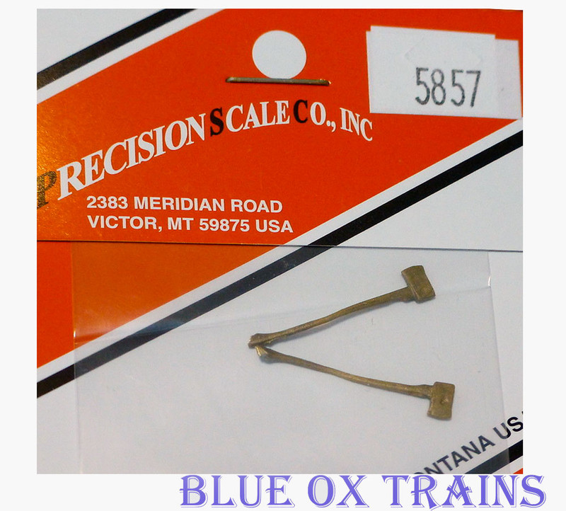 Precision Scale Co PSC 5857 Logging Axe (Brass) HO Scale