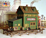 Bar Mills 922 HO Scale Waterfront Willy's Laser Cut Kit