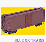 KADEE 5200 K51 HO 40' PS-1 Painted Undecorated Boxcar Red