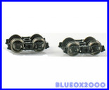 "Blackstone Models B370103 HOn3 D&RGW 3'7"" Arch Bar Freight Car Trucks Denver & Rio Grande Western Black"