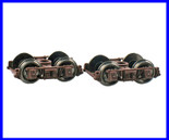 "Blackstone Models B370104 HOn3 D&RGW 3'7"" Arch Bar Freight Car Trucks Red Denver & Rio Grande Western"