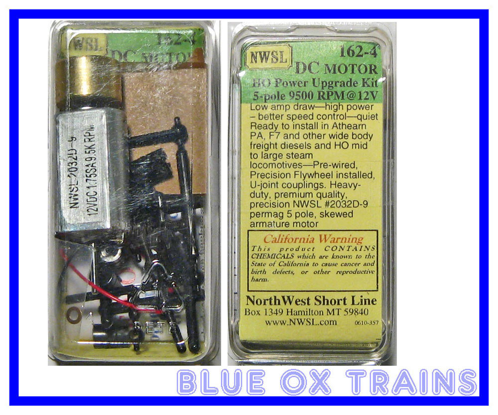 NWSL 162-4 2030D-9 Power Upgrade Can Motor Kit Athearn Wide Body F7 PA Etc