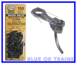 Kadee #150 25 Pair Bulk Pack of 158 Whisker Couplers HO Scale