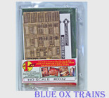 Bar-Mills 32 HO Scale 1-Kit Modular Structure Laser Cut Wood Kit
