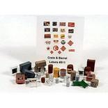 JL Innovative Design 511 HO Scale 30 Crates, Kegs, & Barrels Unpainted Metal Castings
