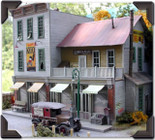 """Bar Mills 882 """"THE GRAVELY BUILDING"""" Ho Scale Laser Cut Kit"""