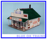 Blair Line HO Scale 180  Blairstown General Store Laser Cut Kit