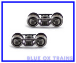 Blackstone Models B370110 HOn3 D&RGW UTLX Tank Car Trucks Bettendorf Black
