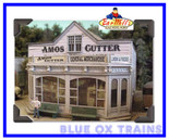 Bar Mills #462 HO Amos Cutter General Merchandise Laser Cut Kit