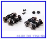 Blackstone Models B370109 D&RGW Arch Bar Tank Car Trucks (Black)