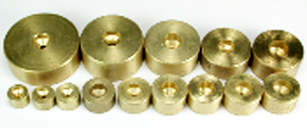 NWSL #409-6 Brass Flywheel for 2.0mm Shaft 11mm OD x 7mm