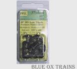 NWSL 37141-4 HO Athearn Half-Axle 40in/110 Half Axle Inside Frame