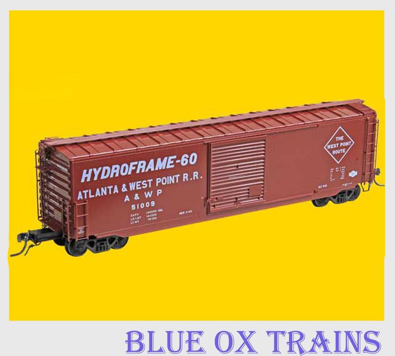 KADEE 6348 K59 50' PS-1 Boxcar Atlanta West Point AWP 51009 HO Scale