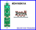 Digitrax DH165K1A HO Scale Mobile Decoder