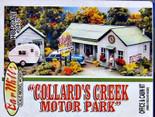 BAR MILLS HO Collard Creek Motor Park Laser-cut Kit #872