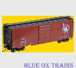 Kadee 5304 K53 HO Scale 40' PS-1 Boxcar Central Of New Jersey CNJ 23512