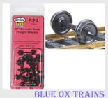 "KADEE 524 HO Scale 28"" Smooth Back Freight Car Wheels"
