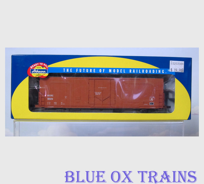Athearn 88961 R43 Washington Central 50' Box Car WCRC 10120 HO Scale