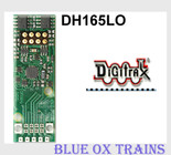 Digitrax DH165L0 1.25 Amp HO Scale Mobile Decoder fits many Lifelike Proto 2000 GP7/SD60 Locos