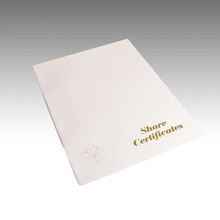 Certificate Paper - Special watermarked security certificate  paper manufactured with 25% cotton ensuring good ageing, ideal for certificates, diplomas and awards. Security Marked. Security paper.