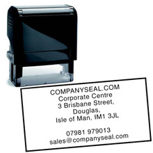 Shiny Rubber Stamp Self inking