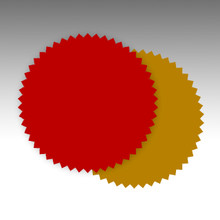 Certificate Stars / Certificate Stickers / Certificate Seals / Red seals / Gold seals / Silver Seals /Seal Stickers / Award Stickers / Certifcate Labels