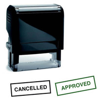 Rubber Stamps, Shiny, Self Inking Rubber Stamp,