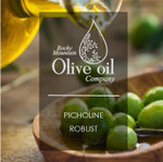 Loaded with desirable pungency and bold green fruit attributes, this Robust Picholine displays a variety of flavors. With hints of green olive, herb, apple, and floral notes, this oil is balanced out with ample bitterness and pepper. Spicy and pungent finish.