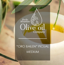 """Great complexity of herbaceous and fruity aromas. """"Oro Bailen"""" Picual has vibrant savory notes, but is still well balanced overall."""
