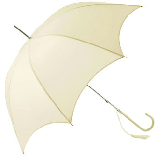 Dainty Wedding Umbrella - Ivory