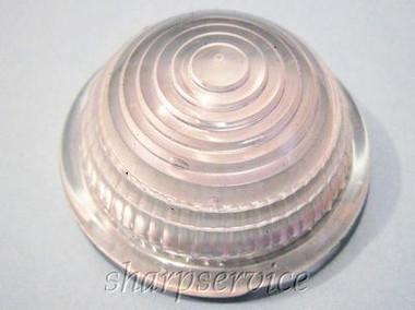 KD LS 3103-031 CLEAR Round Dome Signal Light Lens Ser-Do K-101, Dietz DZ 77-823
