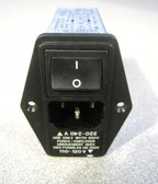 Schaffner FN 390 Filtered AC Power Entry Module IEC Inlet Filter FN 1394-1-05-11