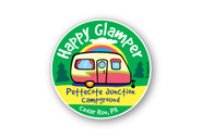 Wholesale Happy Glamper Sticker