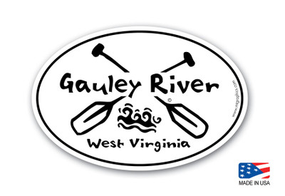 "4""x 6"" Oval Sticker"