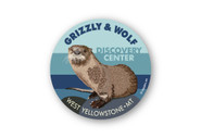 Wholesale River Otter Portrait Sticker