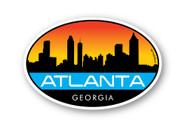 Wholesale Atlanta Sunrise Sticker