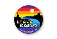 Wholesale The River is Calling Sunset Sticker