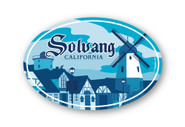 Wholesale Solvang Sticker